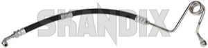 Pressure hose, Steering system 9191467 (1031714) - Volvo 700, 900 - pressure hose steering system Genuine drive for hand left lefthand left hand lefthanddrive lhd vehicles