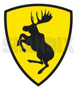 Sticker Ferrari-Elk  (1031773) - universal  - decals label sticker ferrari elk sticker ferrarielk Own-label 66 66mm 72 72mm ferrarielk ferrari elk mm