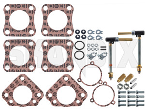 Repair kit, Carburettor SU HS6  (1032361) - Volvo 120 130 220, 140, P1800, PV - 1800e carburetter p1800e repair kit carburettor su hs6 Own-label 6 carburetor carburettor double dual hs hs6 jet needle nozzle stage su twin two twostage without