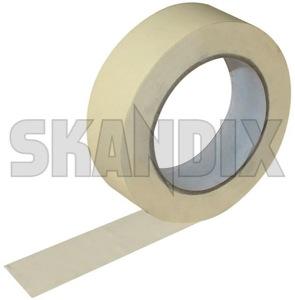 Klebeband 50 m Abklebeband  (1032469) - universal  - abklebeband klebeband 50m abklebeband krepband kreppband lackiererband malerkrepp tape tesaband Hausmarke 25 25mm 50 50m abklebeband m mm
