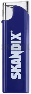 Feuerzeug SKANDIX Logo  (1032919) - universal  - feuerzeug skandix logo Hausmarke blau blauer kindersicherung kunstoff kunststoff logo mit nachfuellbar plastik skandix vorgeschriebener wiederauffuellbar
