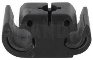 Holder, Wheel speed sensor Front axle 1359902 (1033344) - Volvo 200, 700 - holder wheel speed sensor front axle mounting Genuine axle clamp clip front