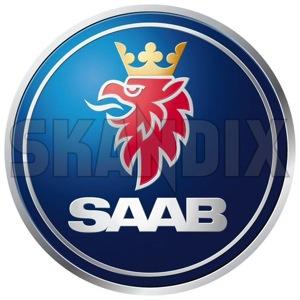 Aufkleber Saab Logo  (1033352) - Saab universal - aufkleber saab logo autoaufkleber funaufkleber fun aufkleber kleber sticker Hausmarke 72 72mm logo mm rund runder saab