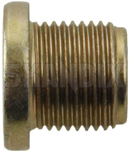 Screw Plug, Transmission Oil filling plug Square 3224662 (1033595) - Volvo 300, 400, S40 V40 (-2004) - gearboxplug screw plug transmission oil filling plug square transmissionplug Genuine filling oil plug screw square