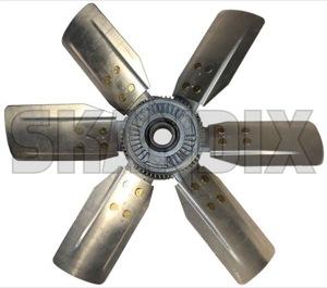 Fan wheel, radiator 1277799 (1033735) - Volvo 140, 164, 200 - fan wheel radiator Genuine coupling fluid with