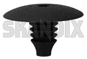 Plug round 1247342 (1034221) - Volvo universal - plug round Genuine 10 10mm 28 28mm material mm plastic round synthetic