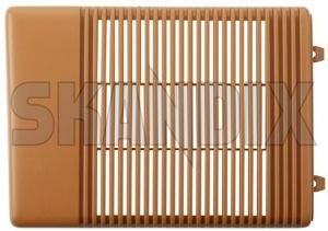 Speaker cover 1379383 (1034445) - Volvo 700, 900 - loudspeaker speaker cover Genuine beige door front left