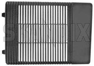Speaker cover 3500053 (1034456) - Volvo 700, 900 - loudspeaker speaker cover Genuine door front grey right