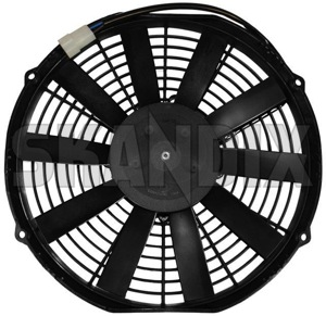 Electrical radiator fan  (1034590) - Volvo 200 - cooler cooling fans electrical radiator fan electrically engine fans fan motor Own-label