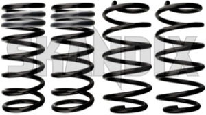 Lowering kit 30 mm  (1034653) - Volvo V70 XC70 (2008-) - lowering kit 30mm lowering springs kit lowrider sport suspension springs suspension springs eibach springs 30 30mm adjustment certificate for height mm ride roadworthy vehicles with without