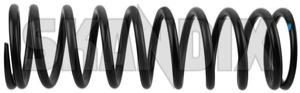 Suspension spring Rear axle 653163 (1035056) - Volvo P1800ES - suspension spring rear axle Genuine axle in only pairs rear