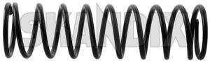 Fahrwerksfeder Hinterachse 657843 (1035093) - Volvo P1800, P1800ES - 1800 1800es 1800s achsfeder coupe es fahrwerksfeder hinterachse fahrwerksfedern feder federn jensen p1800s schraubenfeder sportcoupe sportkombi Original hinten hinterachse hinterer