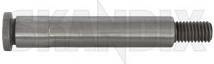 Shaft, Idler arm 666402 (1035151) - Volvo 120 130, 220, P1800, PV P210 - 1800e kingpin p1800e pitman arm pitmanarm reversing lever shaft idler arm steering pin Genuine
