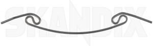 Haltefeder, Gehäuse Hauptscheinwerfer 683492 (1035334) - Volvo 164 - federn haltefeder gehaeuse hauptscheinwerfer haltefedern limousine p164 scheinwerferfedern sedan stufenheck Original
