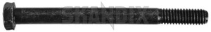 Screw/ Bolt Idler arm  (1035402) - Volvo 120 130 220, P1800, P1800ES - 1800e p1800e screw bolt idler arm screwbolt idler arm Own-label 113 113mm arm idler lever mm pin pitman pitmanarm reversing steering