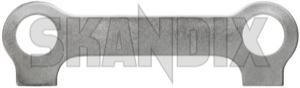 Sicherungsblech Querlenker 942942 (1035410) - Volvo 120 130 220, P1800, P1800ES - 121 122 122s 130 131 1800 1800es 1800s 220 amazon amazone coupe es halteblech jensen p120 p121 p122 p122s p130 p131 p1800s p220 sicherungsblech querlenker sportcoupe sportkombi Original querlenker