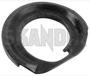 Spacer, Spring mounting Front axle upper Rubber 30666314 (1035741) - Volvo S60 (-2009), S80 (-2006), V70 P26, XC70 (2001-2007), XC90 (-2014) - spacer spring mounting front axle upper rubber spring isolator spring spacer leaf springseat Own-label axle front rubber upper