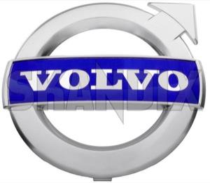 Emblem Radiator grill 31383032 (1037031) - Volvo C30, C70 (2006-), S60 (2011-2018), V40 (2013-), V50, V60 (2011-2018), V70 (2008-), XC70 (2008-) - badges emblem radiator grill Genuine 125 125mm chromed for grill mat mm rdesign r design radiator vehicles with