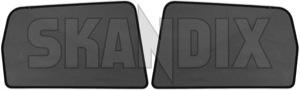 Window blinds Side window, door Kit for both sides 31399211 (1037710) - Volvo V70 (2008-), XC70 (2008-) - roller blinds window blinds side window door kit for both sides Genuine both cover cover  door drivers for kit left moulded passengers rear right side sides window window