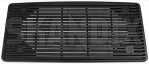 Speaker cover 1307095 (1037954) - Volvo 200 - loudspeaker speaker cover Own-label black dashboard upper