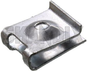 Sheet nut 4,8 mm 1259307 (1038005) - Volvo universal - nuts plate nuts sheet nut 4 8mm sheet nut 48mm sheetmetal nuts sheet metal nuts Genuine 4,8 48 4 8 4,8 48mm 4 8mm mm