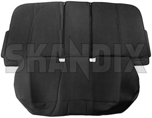 Accessory Seat Guard Rear seat Vinyl black 31263120 (1038629) - Volvo S60 (2011-2018), S60 XC (-2018), V60 (2011-2018), V60 XC (-18) - accessory seat guard rear seat vinyl black protection protective seats slip covers slipcover Genuine backseats bench black fond rear rearbench rearseats seat seats vinyl