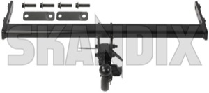 Trailer hitch with removable Coupling ball 31359557 (1038646) - Volvo S60 (2011-2018), V60 (2011-2018) - trailer hitch with removable coupling ball Genuine ball coupling removable with