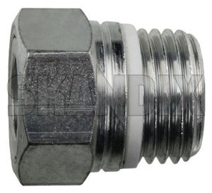 Line connection, Steering rack 31202975 (1039319) - Volvo C30, S40 V50 (2004-) - cable connection line connection steering rack Genuine hose power pressure steering