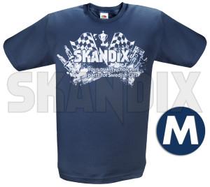 T-Shirt SKANDIX Logo Racing M  (1039657) - universal  - hemden shirts t shirt skandix logo racing m tshirt skandix logo racing m Hausmarke 1/2 12 1 2 aermellaenge bedruckt blau blauer logo m racing rundhals skandix