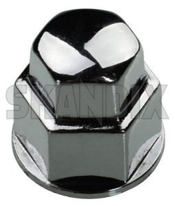 Cap, Wheel bold  (1039928) - universal  - bolts cap wheel bold head caps lug nuts covers protective caps screws trim Own-label 19 chrome material plastic synthetic