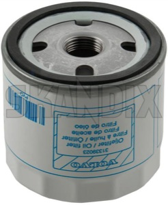 Oil filter Spin-on Filter 31339023 (1040751) - Volvo C30, S40 V50 (2004-), S60 (2011-2018), S80 (2007-), V40 (2013-), V40 XC, V60 (2011-2018), V70 (2008-) - oil filter spin on filter oil filter spinon filter oilfilter Genuine bulletfilters cartouche cartridges cassette filter filters seal shellfilters single singleuse singleusefilters spinon spin on use with