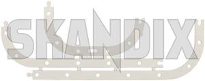 Gasket, Oil pan 1378864 (1040861) - Volvo 120 130 220, 140, 200, 300, 700, 900, P1800, P1800ES, PV P210 - 1800e gasket oil pan p1800e seal elring      crankcase gasket oil pan split