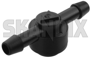 Valve, Cleaning water system for Rear window 5336979 (1040962) - Saab 9-5 (-2010), 9000 - check valve nonreturn valve non return valve oneway valve one way valve valve cleaning water system for rear window Genuine cleaning for rear window