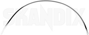 Zierleiste, Radlauf hinten rechts 1201842 (1041013) - Volvo 200 - 200er 240er 242 244 245 260er 262 262er 264 265 2er chromleisten leisten p240 p242 p244 p245 p260 p262 p264 p265 radkasten zierleisten radlaufchromleisten radlaufkanten radlaufleisten radleisten radzierleisten zierleiste kotfluegel zierleiste radlauf hinten rechts zierleisten Original chrome hinten hinterer krom rechter rechts verchromt verchromter