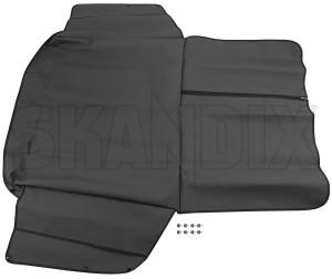 Trunk mat Vinyl black 31305874 (1041275) - Volvo V40 (2013-), V40 XC - trunk mat vinyl black Genuine black high vinyl