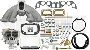 Carburettor Weber 38/38 DGMS Kit  (1041572) - Volvo 120 130 220, 140, P1800, P1800ES, PV P210 - 1800e carburetor carburettor weber 38 38 dgms kit carburettor weber 3838 dgms kit p1800e weber 38/38 3838 38 38 carburetor carburettor choke dgms double dual kit manual part racing stage twin two twostage weber