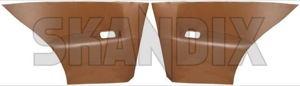 Cover, Interior panel Side panel Kit  (1041706) - Volvo 120 130 - cover interior panel side panel kit Own-label 425 552 425552 425 552 425 425b552 425b 552 brown cardboard cover kit left only only  panel rear right shaped side vinyl without