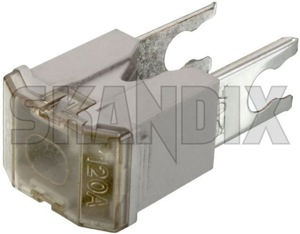 Fuse Japan AS 120 A 30872418 (1041755) - Volvo S40 V40 (-2004) - ampere automotive fuses fuse japan as 120a Genuine 120 120a a as japan white