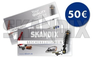 Gift certificate 50 EUR  (1042206) - universal  - coupons gift certificate 50eur gift certificates gift coupons voucher Own-label 50 50eur eur on paper printed