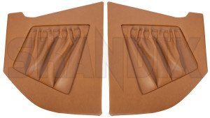 Interior panel A-pillar brown Kit for both sides  (1043508) - Volvo P1800 - 1800e interior panel a pillar brown kit for both sides interior panel apillar brown kit for both sides kick panels p1800e Own-label 310 557 310557 310 557 320 558 320558 320 558 apillar a pillar both brown drivers for kit left passengers right side sides