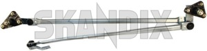 Linkage, Wiper mechanism 30850294 (1043655) - Volvo S40 V40 (-2004) - linkage wiper mechanism Genuine cleaning drive for hand left lefthand left hand lefthanddrive lhd vehicles window windscreen