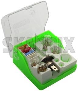 Spare Bulb kit H4 12 V 10 -piece  (1043718) - universal  - spare bulb kit h4 12v 10 piece spare bulb kit h4 12v 10piece Own-label   piece  piece 10 10  10piece 10 piece 12 12v h4 v