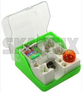 Spare Bulb kit H1 H7 12 V  (1043722) - universal  - spare bulb kit h1 h7 12v Own-label 12 12v h1 h7 v
