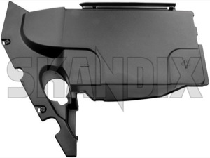 Cover, Battery box 12766289 (1043840) - Saab 9-3 (2003-) - batteryboxcover batteryboxlid batterycasecover batterycaselid boxcover boxlid cover battery box lid Genuine