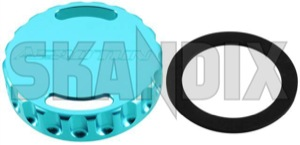 Verschlussdeckel, Ölpeilstab blau  (1043878) - Saab 9-3 (-2003), 9-5 (-2010) - 93 93 9 3 95 95 9 5 9600 austauschdeckel austauschkappe austauschverschlussdeckel austauschverschlusskappe einfuelldeckel einfuellkappe einfuellverschluss kappe messstab messstaebe messtab messtaebe oelpeilstabkappe oelpeilstabverschlussdeckel oelpeilstabverschlusskappe oelstabkappe oelstabverschlusskappe peilstab peilstaebe verschlussdeckel oelpeilstab blau verschlusskappe Hausmarke /    aluminium blau blauer chrome dichtung eloxiert mit styling tuning