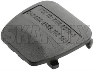 Cap, Remote control Locking system 5184114 (1044006) - Saab 9-3 (-2003), 9-5 (-2010) - battery shelf cap remote control locking system cover key remote central locking Genuine