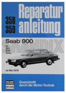 Book Workshop manual Saab 900 ab 05/1978 - GL / GLE / EMS / Turbo German  (1044189) - Saab 900 (-1993) - book workshop manual saab 900 ab 05 1978  gl  gle  ems  turbo german book workshop manual saab 900 ab 051978 gl gle ems turbo german owners manual Own-label /         05/1978 051978 05 1978 165 165pages 900 978 3 7168 14468 9783716814468 978 3 7168 14468 ab ems german gl gle manual pages saab turbo workshop