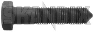Bolt, Mount Shock absorber lower Front axle 30819124 (1044487) - Volvo S40 V40 (-2004) - bolt mount shock absorber lower front axle screws shocks Genuine axle front locking lower needed screw