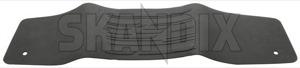 Tunnel mat black (offblack) 39822906 (1044541) - Volvo S60 XC (-2018), S60 V60 (2011-2018), V60 XC (-18) - cardan tunnel mats driveshaft tunnel mats floor mats middle tunnel mats protective mats tunnel mat black offblack tunnel mat black offblack  Genuine offblack  offblack  black rubber