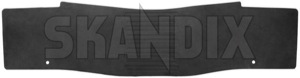 Tunnel mat black (offblack) 39822885 (1044545) - Volvo XC60 (-2017) - cardan tunnel mats driveshaft tunnel mats floor mats middle tunnel mats protective mats tunnel mat black offblack tunnel mat black offblack  Genuine offblack  offblack  black rubber